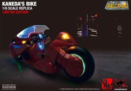 Figura de Akira en moto, para los más otaku