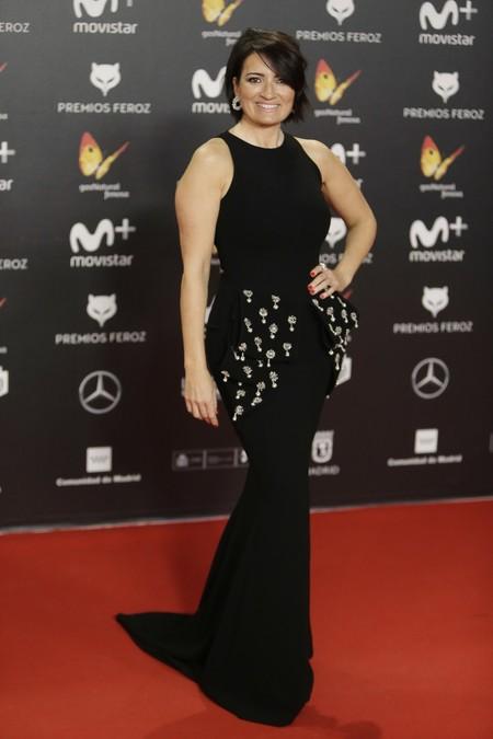 premios feroz alfombra roja look estilismo outfit Silvia Abril
