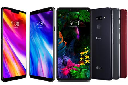 LG G7 ThinQ vs LG G8 ThinQ: comparativa de características