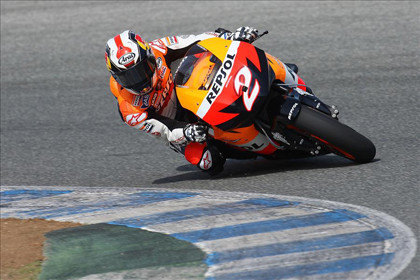 Pedrosa analiza el Circuito de Jerez