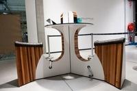 Muebles para pedalear en la oficina, ahorrar energía y mantenerse en forma