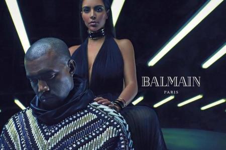 Kim Kardashian Kanye West Balmain Full Ad Campaign 4