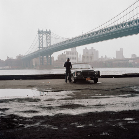 Manhattan Bridge New York City 1987