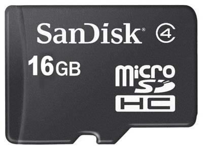 MicroSD de 128 GB para el 2011