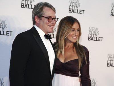 Sarah Jessica Parker se atreve a lucir escotazo en la Gala del Ballet de Nueva York