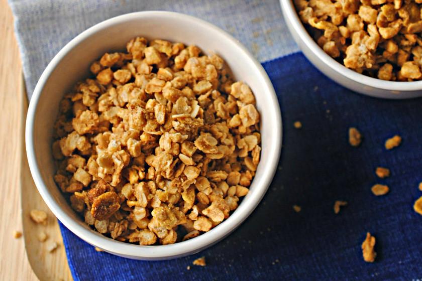 Cómo hacer granola casera, el desayuno más crujiente