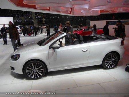 El Volkswagen Golf Cabrio costará 24.840 euros en España