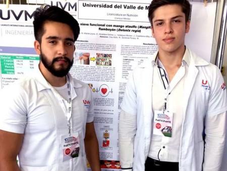 Alumnos mexicanos crean helado de mango y flamboyán para ayudar a personas con diabetes
