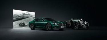 El Bentley Continental GT No. 9 Edition by Mulliner celebra 100 años con una pieza de madera de un monoplaza ancestral