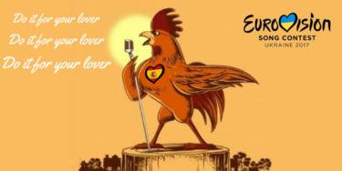 Los memes más divertidos de Eurovisión 2017: desde el gallo de Manel Navarro hasta el guapísimo representante sueco