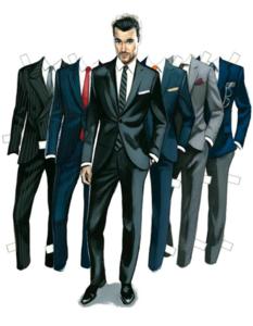 Los Paper-Boys de Fernando Vicente o como disfrutar de ilustraciones de moda masculinas