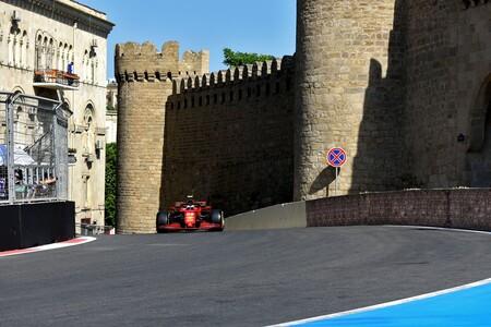 Sainz Azerbaiyan F1 2021