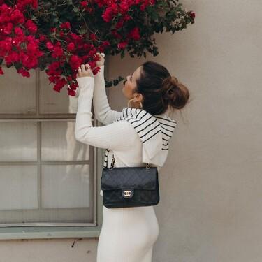 Todo al punto: cinco prendas de estética minimalista con este tejido como protagonista