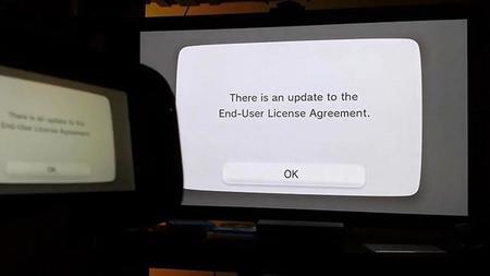Esto es lo que pasa cuando rechazas los nuevos términos de uso del Wii U