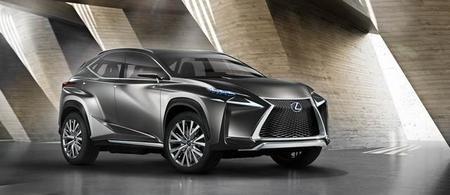 Lexus revelará en Frankfurt su LF-NX Crossover Concept