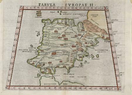 Tabula Europae Ii 1561