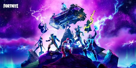 Fornite Capíitulo 2 Temporada 4, evento de Galactus en vivo, Nintendo Switch
