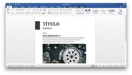 Office 2016 Para Mac 2