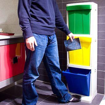 contenedor para reciclar apilable