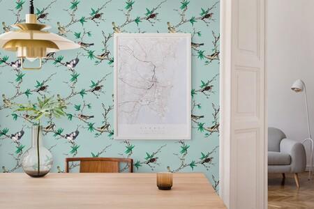 ¿Quieres darle un toque primaveral a tu hogar? No te pierdas esta colección de papeles pintados de Gastón y Daniela