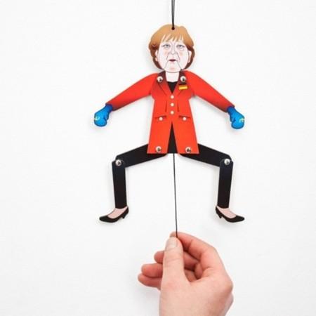Pon a saltar a la Merkel