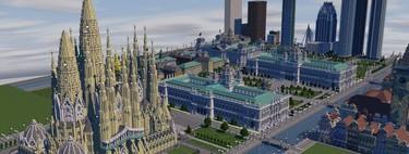 Los 17 mejores monumentos y lugares de interés de España creados en Minecraft
