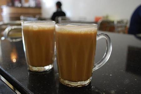 Teh tarik, el té tirado de Malasia
