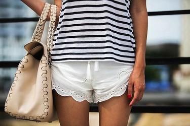 En busca de los shorts blancos perfectos [Los 50 flechazos del verano]