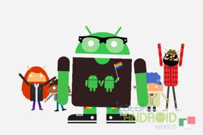 Androidify 4.0, con nuevas ropas y animaciones nos invita a su desfile mundial del orgullo online