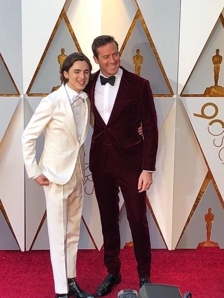 Los Actores De Call Me By Your Name Arrasan En La Alfombra Roja De Los Premios Oscar