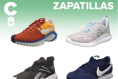 Chollos en tallas sueltas de  zapatillas Nike, New Balance o Reebok en Amazon