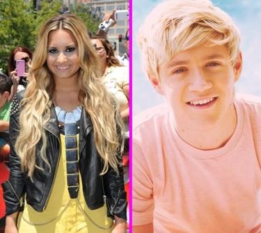 Demi Lovato pone la mira en una dirección nada más, la de Niall Horan