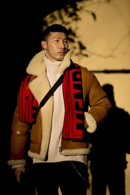 El Mejor Street Style De La Semana Chaqueta Abrigo Borreguillo Shearling Jacket 06