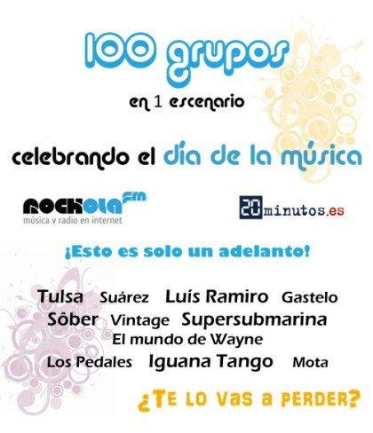 Música en directo gratis en Rockola por el Día de la Música