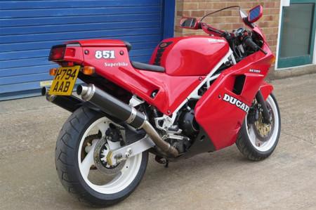 Ducati 851 1991 James May Subasta 2020 1
