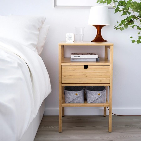 Nordkisa Bedside Table Bamboo 0756023 Pe748743 S5