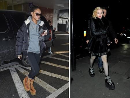 Rihanna Madonna Alexander Wang Boots