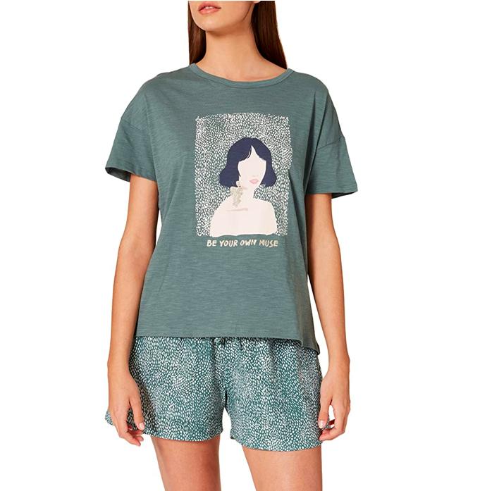 Pijama corto estampado de Women'secret