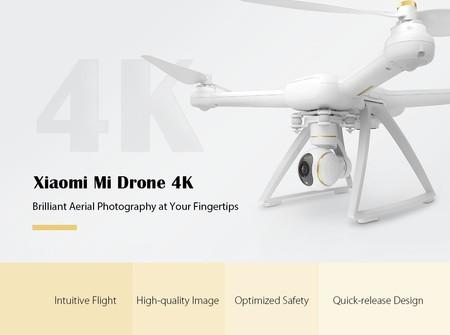 Xiaomi Mi Drone 4K por sólo 272 euros con este cupón de descuento