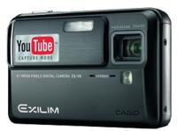 Casio EX-V8 y EX-Z1080, preparadas para Youtube