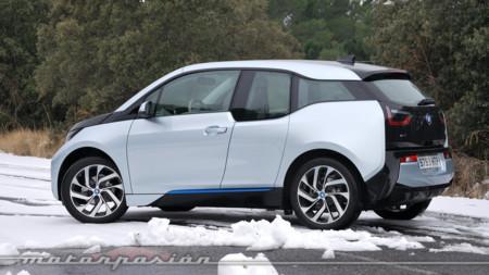 Coches eléctricos: Noruega / España - BMW i3