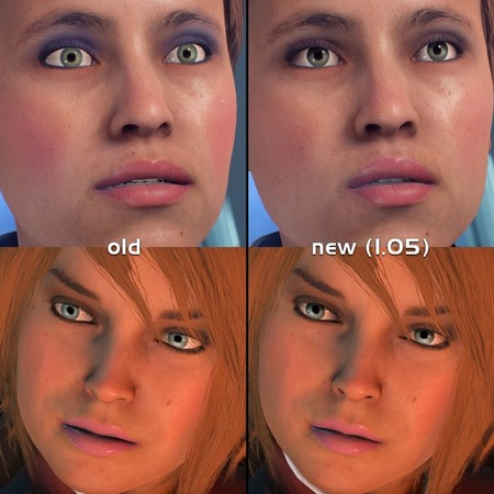 Mass Effect Andromeda Cambio Ojos