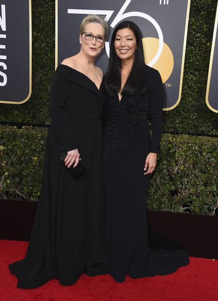 Meryl Streep Negro Globos De Oro 2018