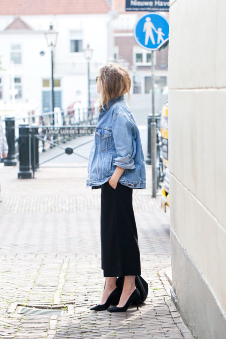Denim And Culottes Fash N Chips Com