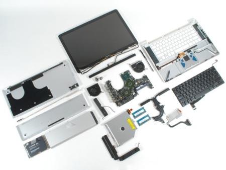 Macbook despiezado