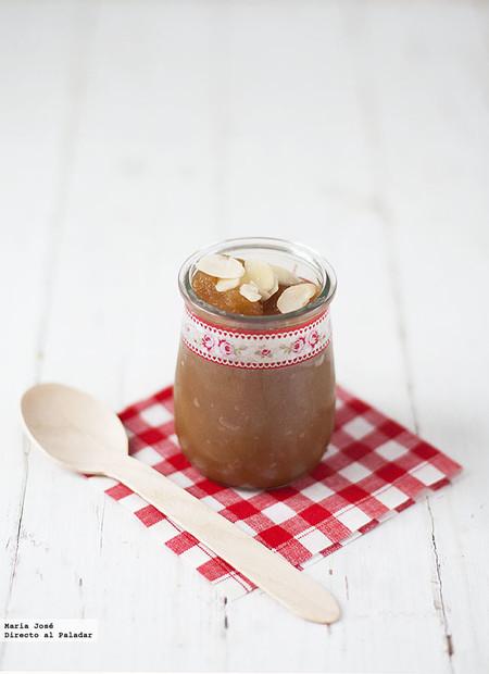Puré de manzana, jengibre y naranja: receta con Thermomix