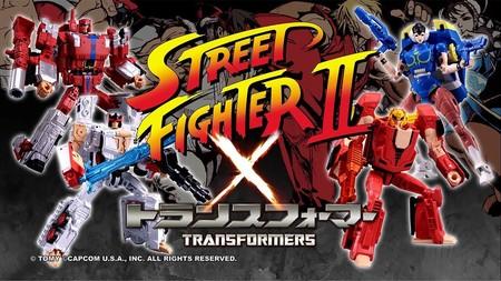 Street Fighter x Transformers: el tráiler de las figuras articuladas es puro fanservice