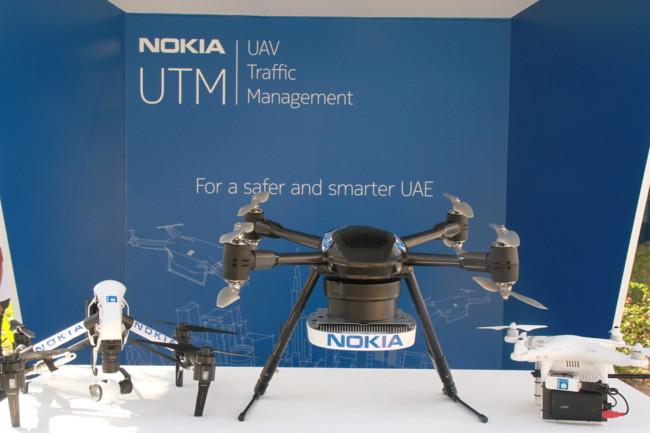 Nokia Drones Control Trafico