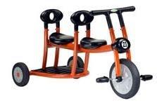 Triciclo tándem
