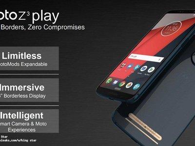 """Moto Z3 con 5G, Moto X5 con pantalla """"completa"""" y Moto G6: parece que Motorola sufrió una filtración masiva"""
